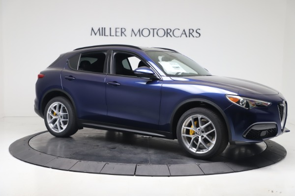 New 2019 Alfa Romeo Stelvio Ti Sport Q4 for sale $56,690 at Bentley Greenwich in Greenwich CT 06830 10