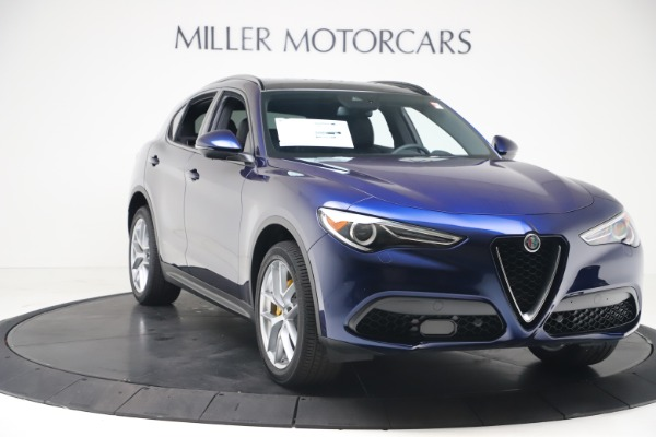 New 2019 Alfa Romeo Stelvio Ti Sport Q4 for sale $56,690 at Bentley Greenwich in Greenwich CT 06830 11