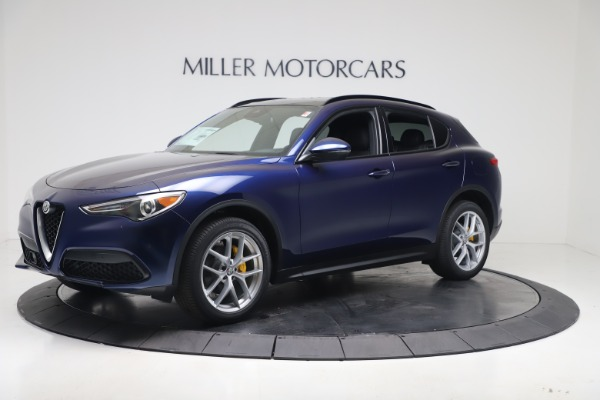 New 2019 Alfa Romeo Stelvio Ti Sport Q4 for sale $56,690 at Bentley Greenwich in Greenwich CT 06830 2