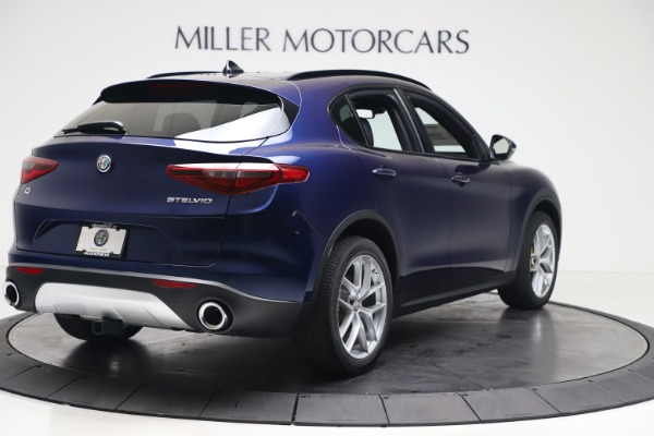 New 2019 Alfa Romeo Stelvio Ti Sport Q4 for sale $56,690 at Bentley Greenwich in Greenwich CT 06830 7