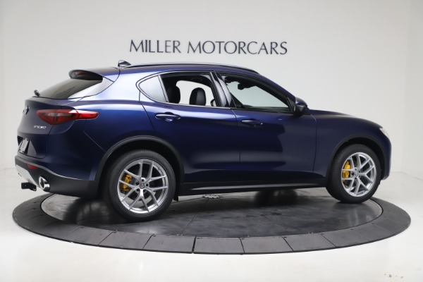 New 2019 Alfa Romeo Stelvio Ti Sport Q4 for sale $56,690 at Bentley Greenwich in Greenwich CT 06830 8