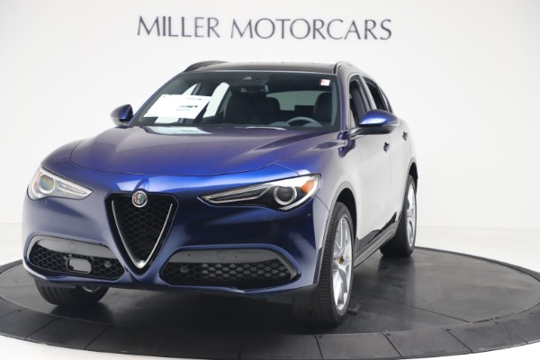 New 2019 Alfa Romeo Stelvio Ti Sport Q4 for sale $56,690 at Bentley Greenwich in Greenwich CT 06830 1