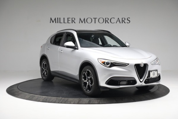 New 2019 Alfa Romeo Stelvio Ti Sport Q4 for sale $52,640 at Bentley Greenwich in Greenwich CT 06830 11