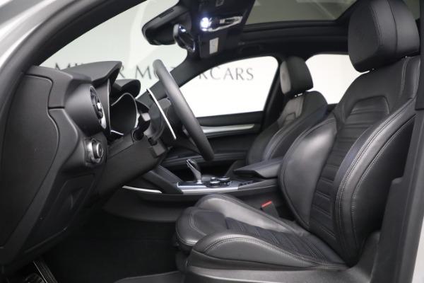 New 2019 Alfa Romeo Stelvio Ti Sport Q4 for sale $52,640 at Bentley Greenwich in Greenwich CT 06830 14