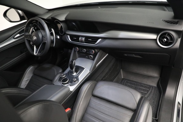 New 2019 Alfa Romeo Stelvio Ti Sport Q4 for sale $52,640 at Bentley Greenwich in Greenwich CT 06830 17