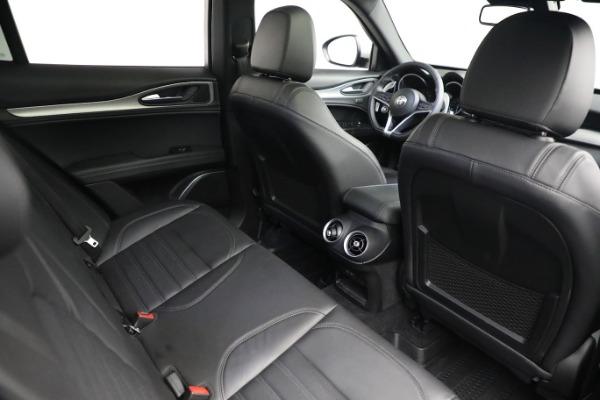 New 2019 Alfa Romeo Stelvio Ti Sport Q4 for sale $52,640 at Bentley Greenwich in Greenwich CT 06830 20