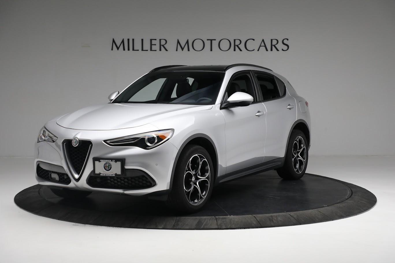 New 2019 Alfa Romeo Stelvio Ti Sport Q4 for sale $52,640 at Bentley Greenwich in Greenwich CT 06830 1