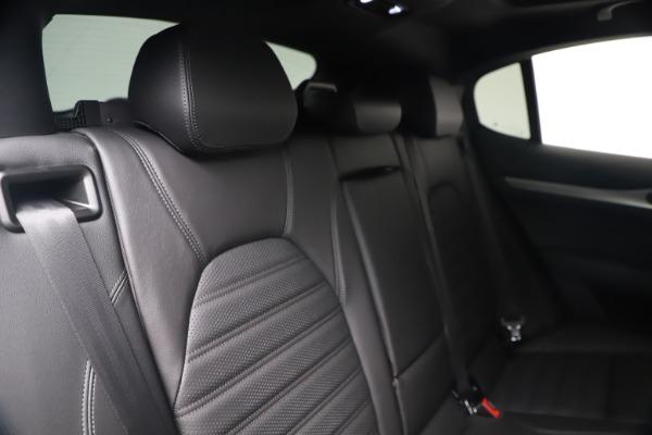 New 2019 Alfa Romeo Stelvio Ti Sport Q4 for sale $52,140 at Bentley Greenwich in Greenwich CT 06830 26