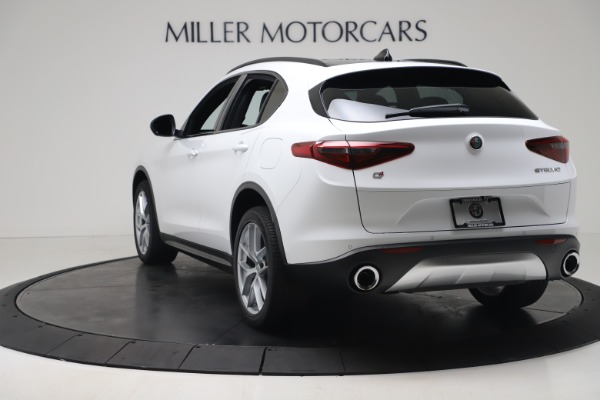 New 2019 Alfa Romeo Stelvio Ti Sport Q4 for sale $52,140 at Bentley Greenwich in Greenwich CT 06830 5