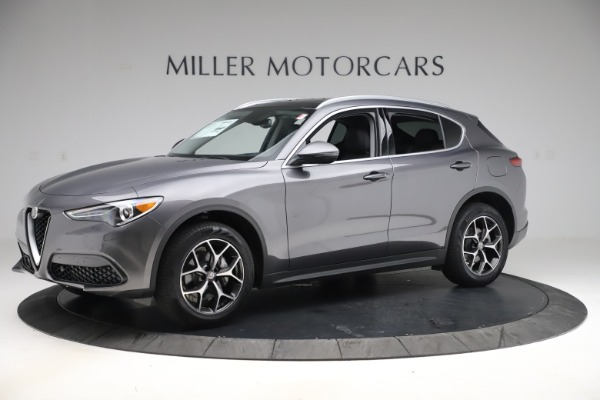 New 2019 Alfa Romeo Stelvio Ti Q4 for sale $51,090 at Bentley Greenwich in Greenwich CT 06830 2
