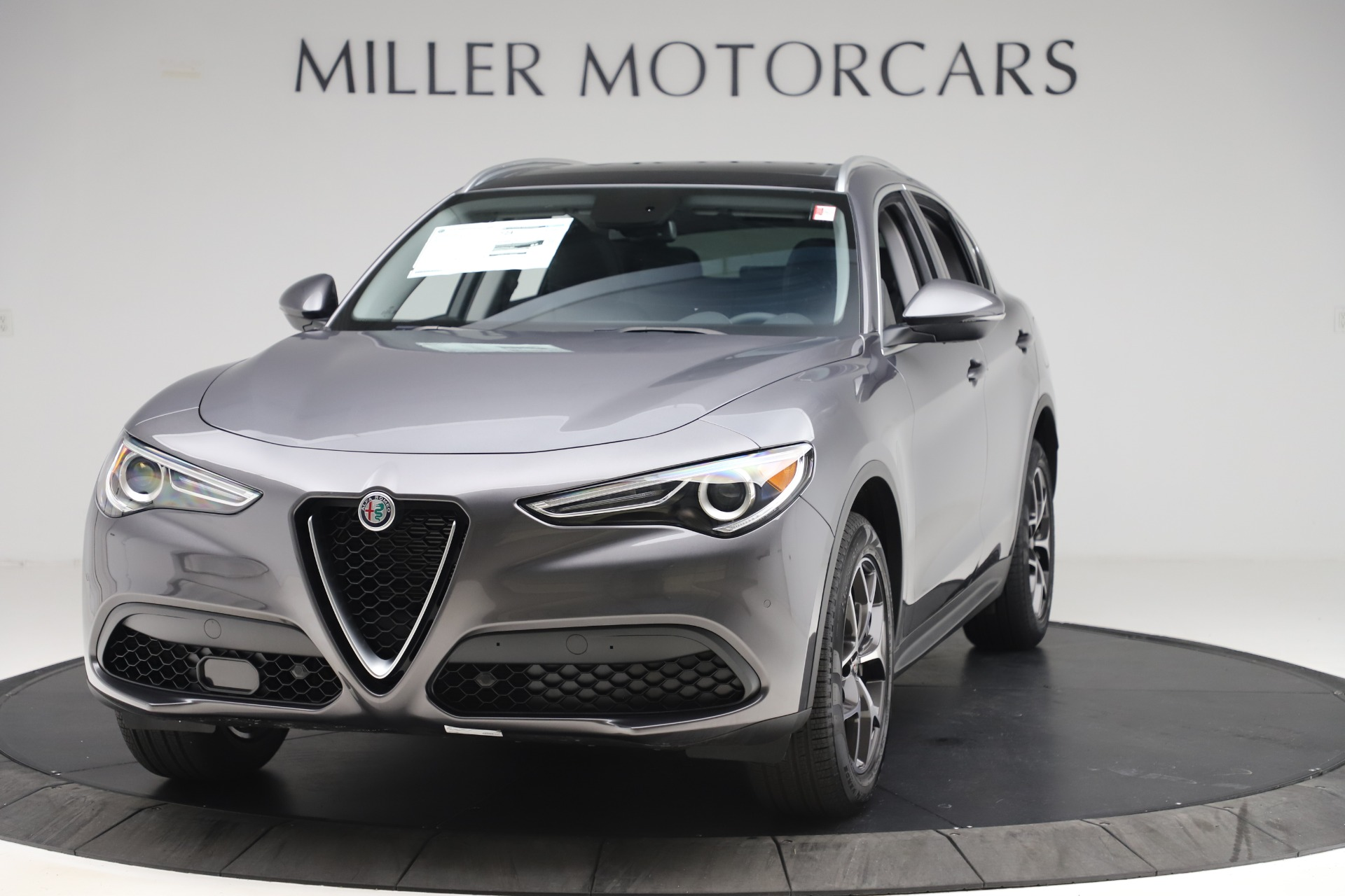 New 2019 Alfa Romeo Stelvio Ti Q4 for sale $51,090 at Bentley Greenwich in Greenwich CT 06830 1