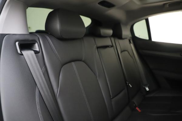 New 2019 Alfa Romeo Stelvio Ti Q4 for sale Sold at Bentley Greenwich in Greenwich CT 06830 26
