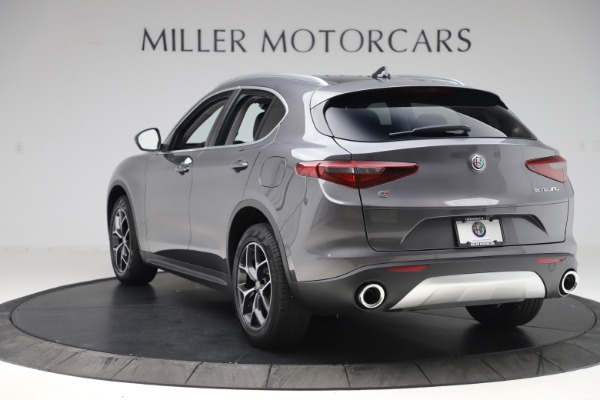 New 2019 Alfa Romeo Stelvio Ti Q4 for sale Sold at Bentley Greenwich in Greenwich CT 06830 5