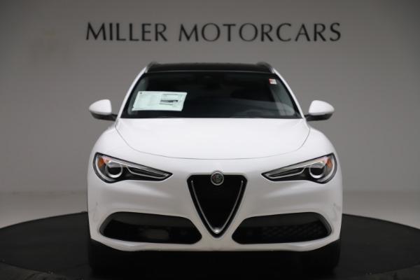 New 2019 Alfa Romeo Stelvio Ti Q4 for sale $51,490 at Bentley Greenwich in Greenwich CT 06830 12