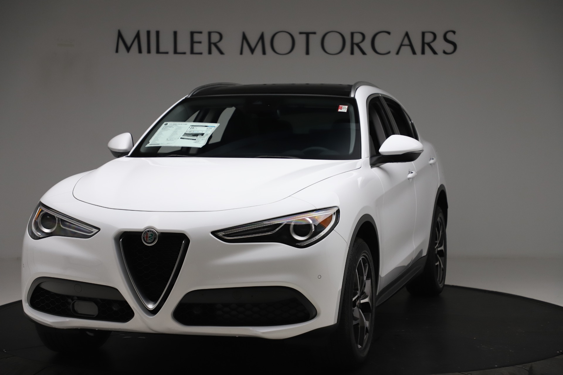 New 2019 Alfa Romeo Stelvio Ti Q4 for sale $51,490 at Bentley Greenwich in Greenwich CT 06830 1