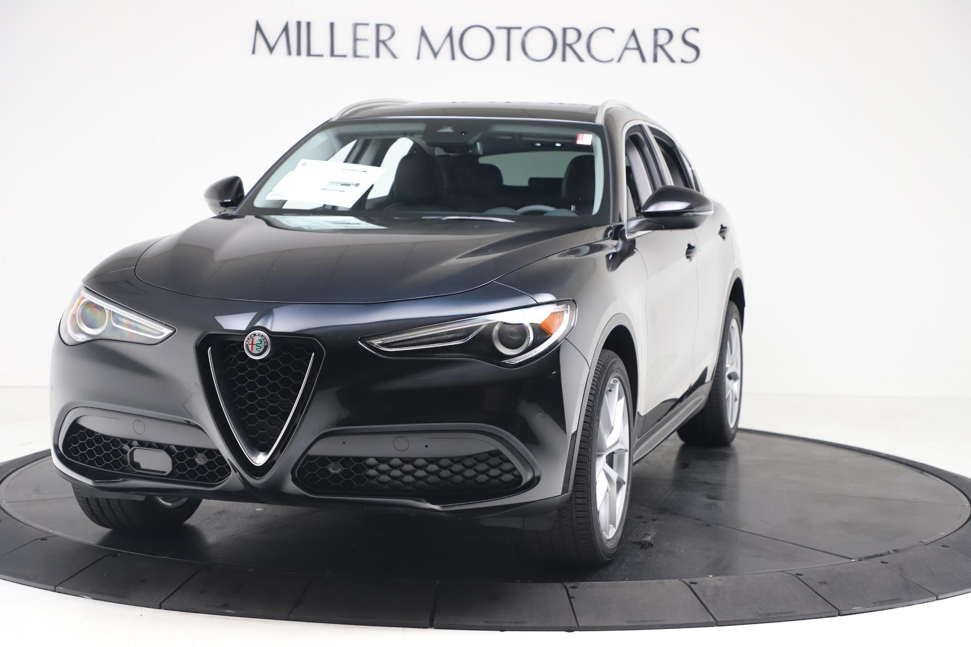 New 2019 Alfa Romeo Stelvio Ti Q4 for sale $51,840 at Bentley Greenwich in Greenwich CT 06830 1