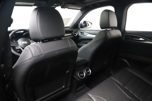 New 2019 Alfa Romeo Stelvio Ti Sport Q4 for sale $53,990 at Bentley Greenwich in Greenwich CT 06830 20