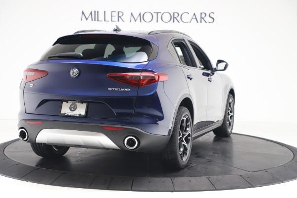 New 2019 Alfa Romeo Stelvio Ti Sport Q4 for sale $53,990 at Bentley Greenwich in Greenwich CT 06830 7