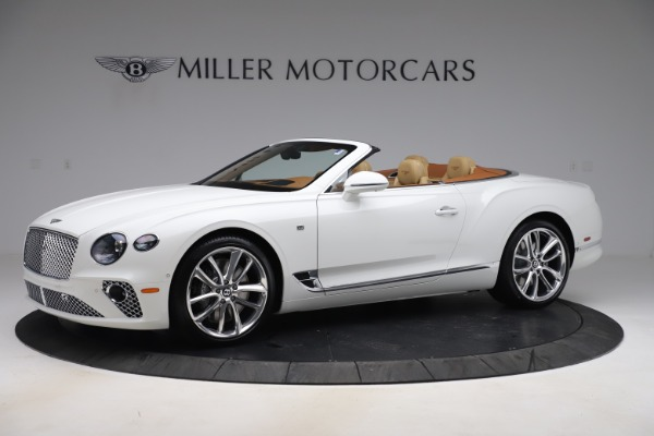 New 2020 Bentley Continental GTC V8 for sale $279,560 at Bentley Greenwich in Greenwich CT 06830 2