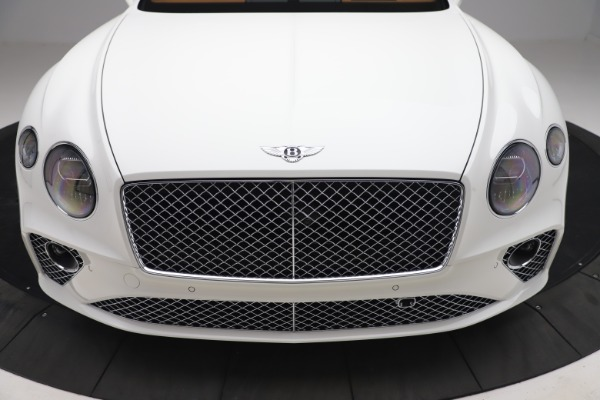 New 2020 Bentley Continental GTC V8 for sale $279,560 at Bentley Greenwich in Greenwich CT 06830 22