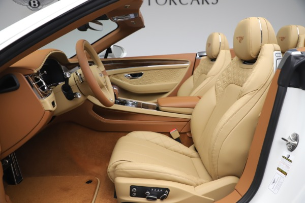 New 2020 Bentley Continental GTC V8 for sale $279,560 at Bentley Greenwich in Greenwich CT 06830 28