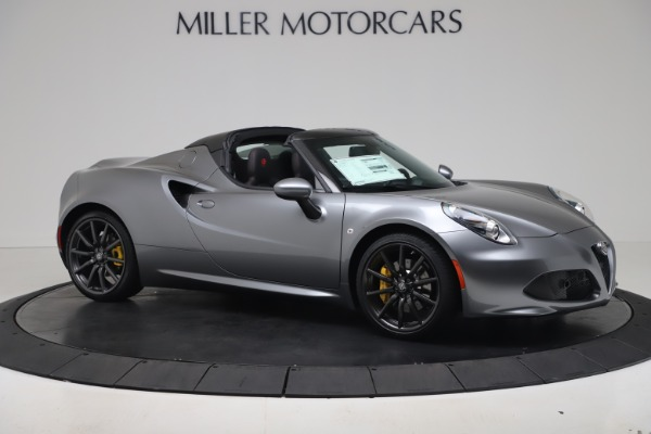 New 2020 Alfa Romeo 4C Spider for sale $78,795 at Bentley Greenwich in Greenwich CT 06830 10