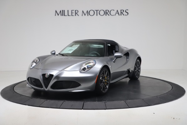 New 2020 Alfa Romeo 4C Spider for sale $78,795 at Bentley Greenwich in Greenwich CT 06830 12