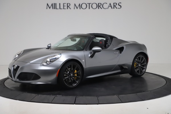 New 2020 Alfa Romeo 4C Spider for sale $78,795 at Bentley Greenwich in Greenwich CT 06830 2