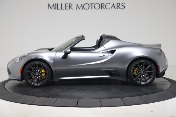 New 2020 Alfa Romeo 4C Spider for sale $78,795 at Bentley Greenwich in Greenwich CT 06830 3