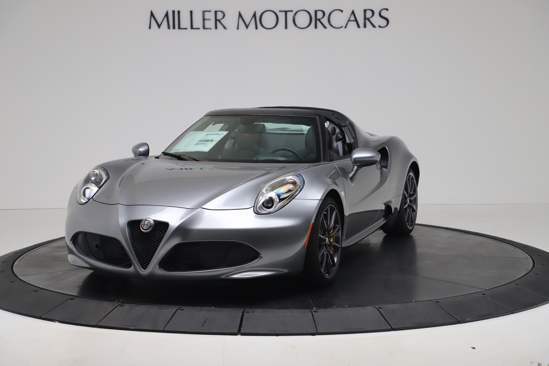 New 2020 Alfa Romeo 4C Spider for sale $78,795 at Bentley Greenwich in Greenwich CT 06830 1