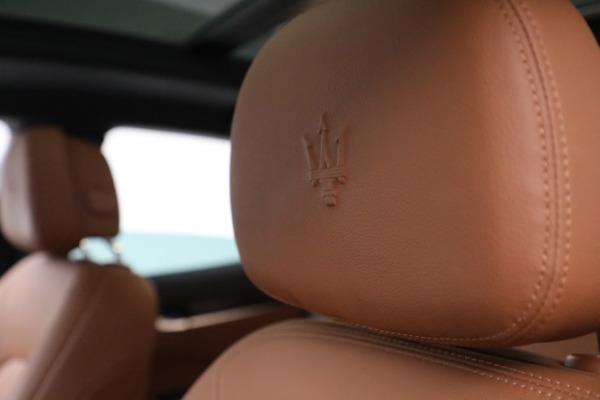 New 2020 Maserati Levante Q4 for sale $81,035 at Bentley Greenwich in Greenwich CT 06830 28