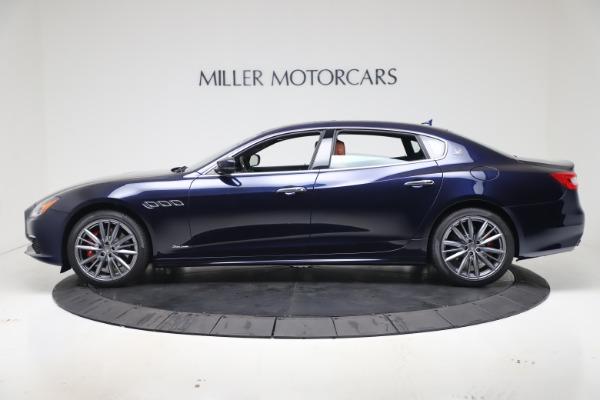 New 2020 Maserati Quattroporte S Q4 GranLusso for sale $117,935 at Bentley Greenwich in Greenwich CT 06830 3