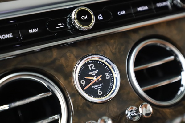 New 2020 Bentley Continental GTC W12 for sale Sold at Bentley Greenwich in Greenwich CT 06830 28