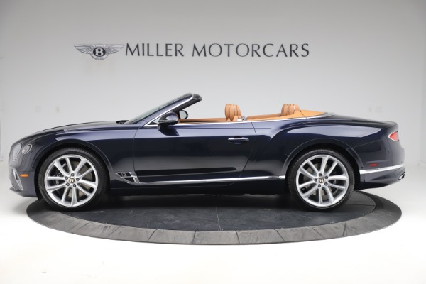 New 2020 Bentley Continental GTC W12 for sale $292,575 at Bentley Greenwich in Greenwich CT 06830 3
