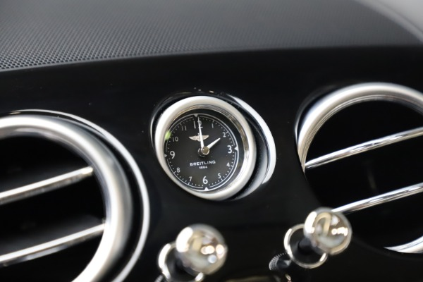 Used 2016 Bentley Continental GT W12 for sale Sold at Bentley Greenwich in Greenwich CT 06830 23