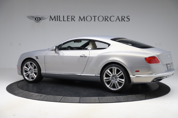 New 2016 Bentley Continental GT W12 for sale $128,900 at Bentley Greenwich in Greenwich CT 06830 4