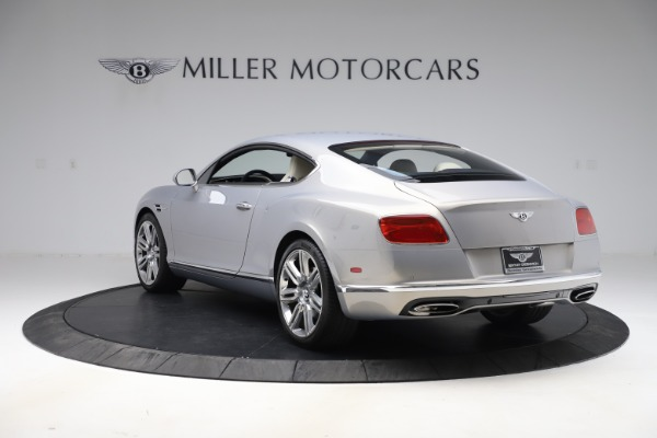 New 2016 Bentley Continental GT W12 for sale $128,900 at Bentley Greenwich in Greenwich CT 06830 5