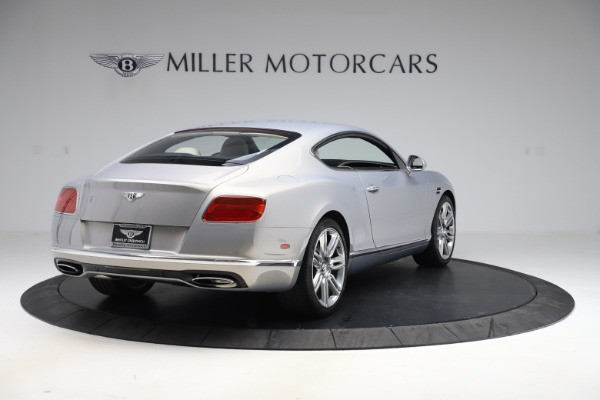 New 2016 Bentley Continental GT W12 for sale $128,900 at Bentley Greenwich in Greenwich CT 06830 7