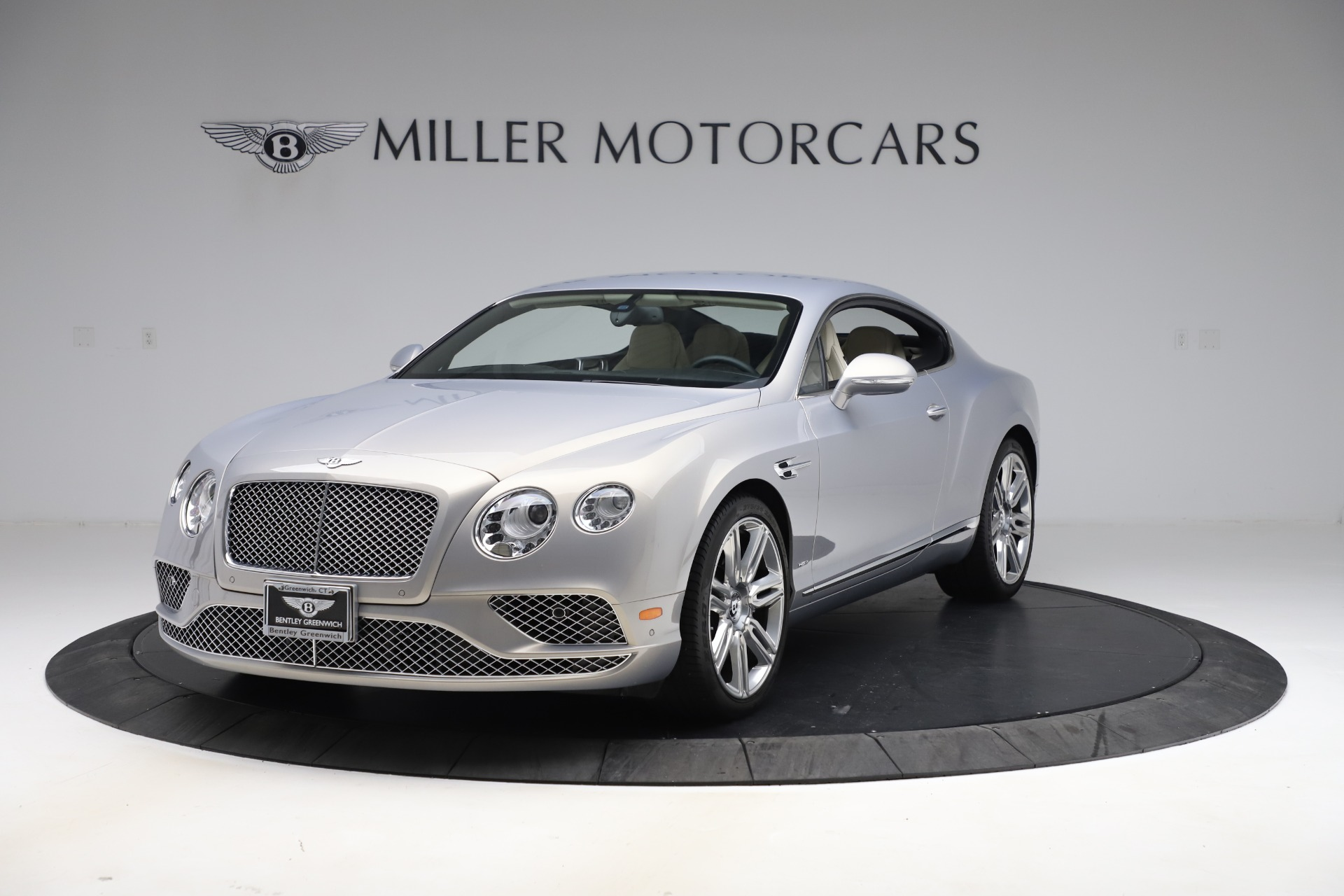 New 2016 Bentley Continental GT W12 for sale $128,900 at Bentley Greenwich in Greenwich CT 06830 1