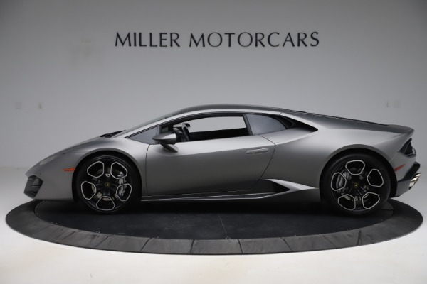 Used 2017 Lamborghini Huracan LP 580-2 for sale $179,900 at Bentley Greenwich in Greenwich CT 06830 3