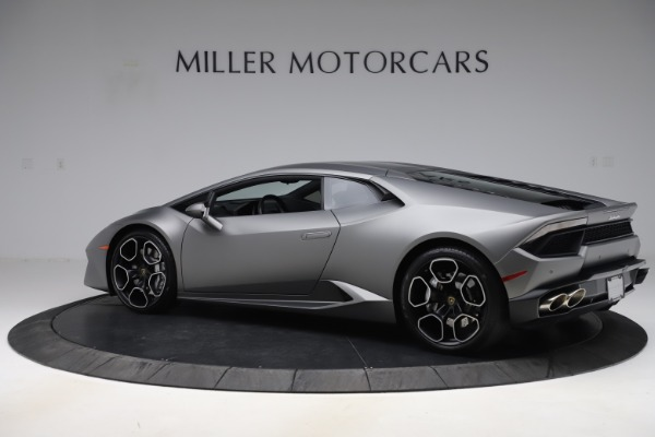 Used 2017 Lamborghini Huracan LP 580-2 for sale $179,900 at Bentley Greenwich in Greenwich CT 06830 4