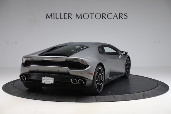 Used 2017 Lamborghini Huracan LP 580-2 for sale $179,900 at Bentley Greenwich in Greenwich CT 06830 7