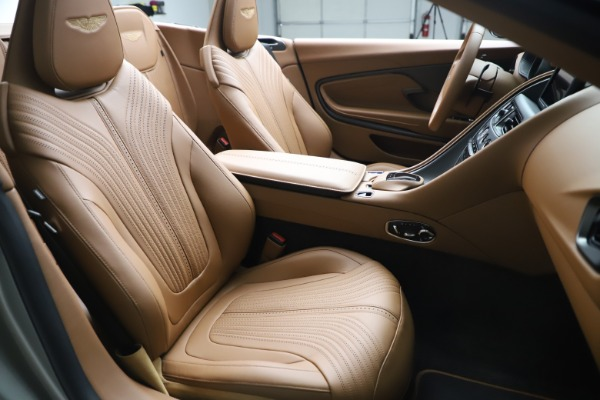 Used 2020 Aston Martin DB11 Volante Convertible for sale $219,900 at Bentley Greenwich in Greenwich CT 06830 21
