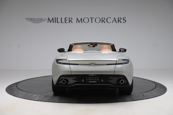 Used 2020 Aston Martin DB11 Volante Convertible for sale $219,900 at Bentley Greenwich in Greenwich CT 06830 7