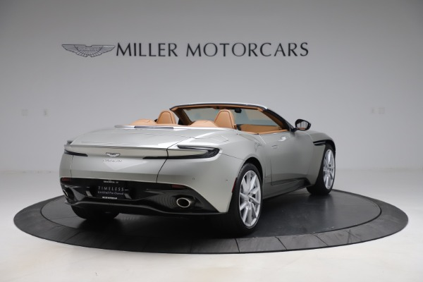Used 2020 Aston Martin DB11 Volante Convertible for sale $219,900 at Bentley Greenwich in Greenwich CT 06830 8