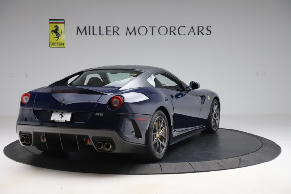 Used 2011 Ferrari 599 GTO for sale $565,900 at Bentley Greenwich in Greenwich CT 06830 7