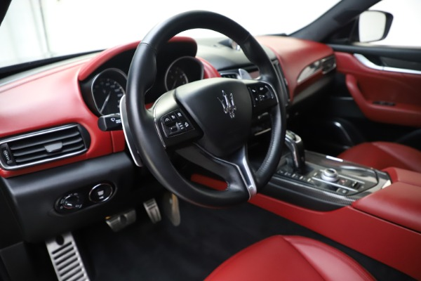 Used 2019 Maserati Levante S Q4 GranLusso for sale $73,900 at Bentley Greenwich in Greenwich CT 06830 13
