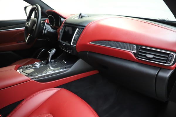 Used 2019 Maserati Levante S Q4 GranLusso for sale $73,900 at Bentley Greenwich in Greenwich CT 06830 22