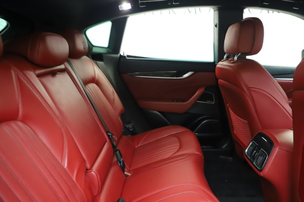 Used 2019 Maserati Levante S Q4 GranLusso for sale $73,900 at Bentley Greenwich in Greenwich CT 06830 27