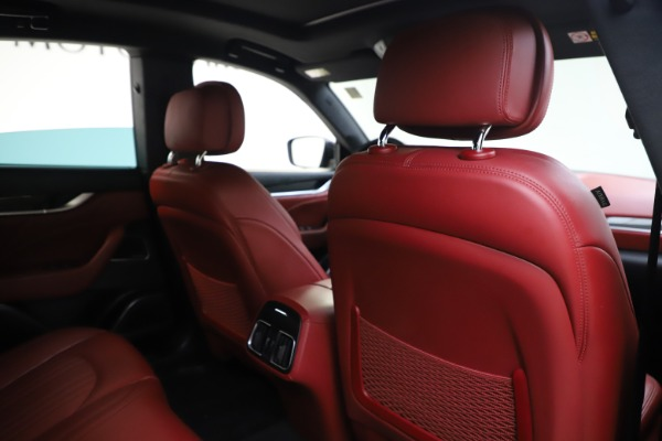 Used 2019 Maserati Levante S Q4 GranLusso for sale $73,900 at Bentley Greenwich in Greenwich CT 06830 28